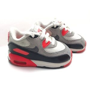 Nike Air Max 90 Prem Mesh Infrared Grey White 4C